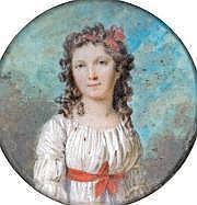 Marie Victoire LEMOINE (1754-1820) Portrait