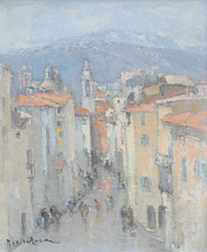 Louis-Marie DESIRE-LUCAS (1869-1949) La rue
