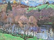 TIMKOV NIKOLAÏ (1912-1993) La rivière en hiver,