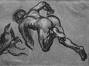CHENAVARD PAUL (1807-1895) L'enfer de Dante.