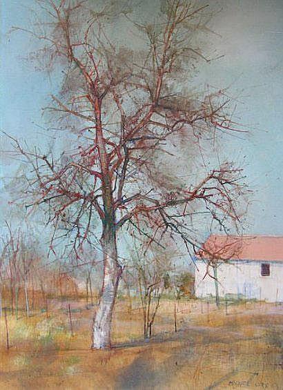 Michel CIRY (né en 1919) Printemps Huile sur