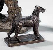 Paul Edouard DREUX (1855-1947) Fox terrier