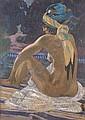 Emile GAUDISSARD (Alger 1872-Paris 1956) Mauresque, Émile Gaudissard, Click for value