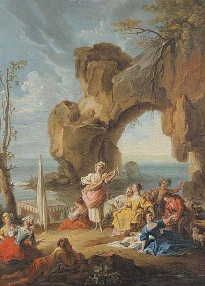 Ramon BAYEU y SUBIAS (1746-1793) Le concert au