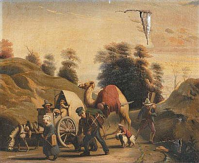 Louis Vincent FOUQUET (1803-1869) Les