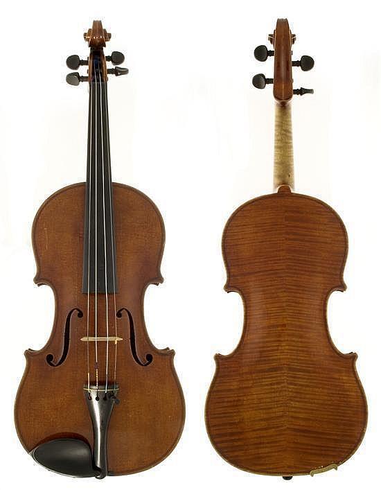 A Violin by Holm Viertel, Aix La Chappelle An 1924