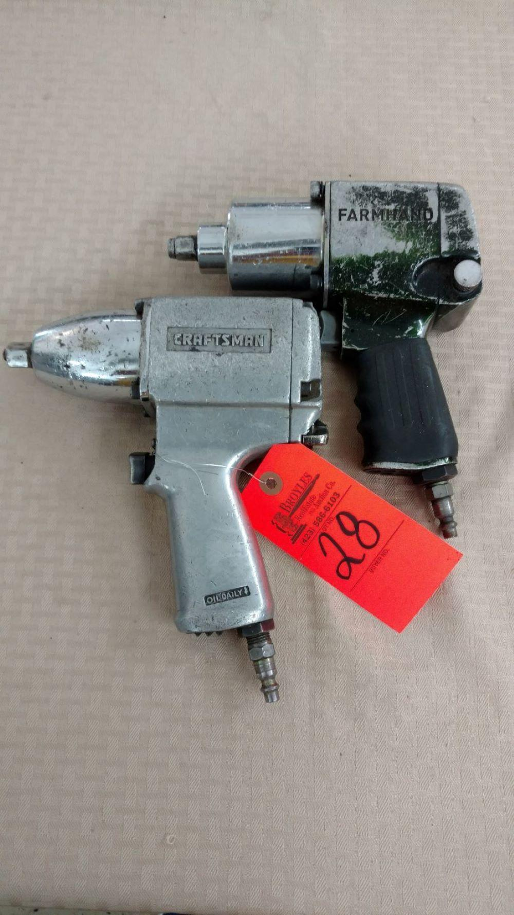 Craftsman & Farmhand air impact wrench