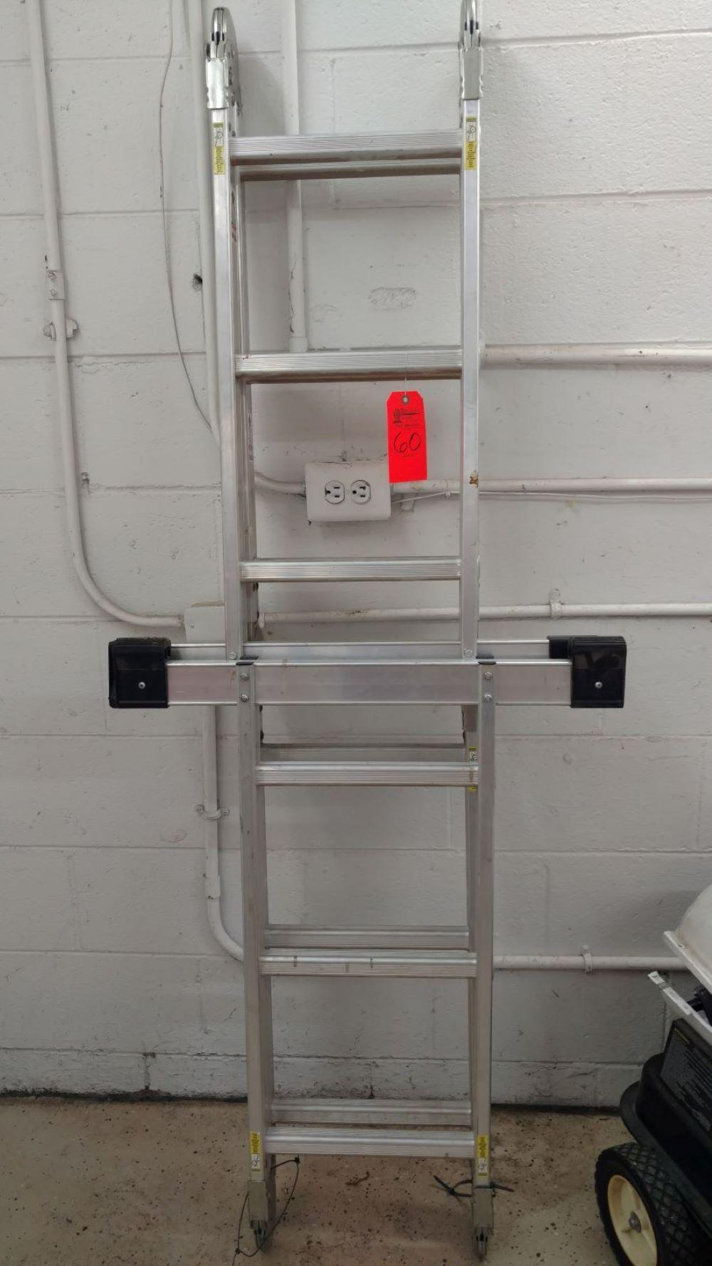 Type 1 heavy duty ladder