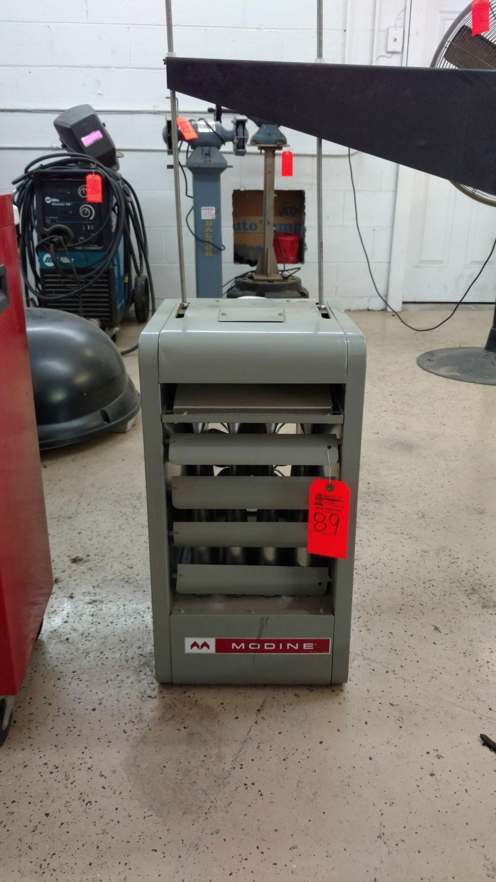 Modine natural gas wall mount heater