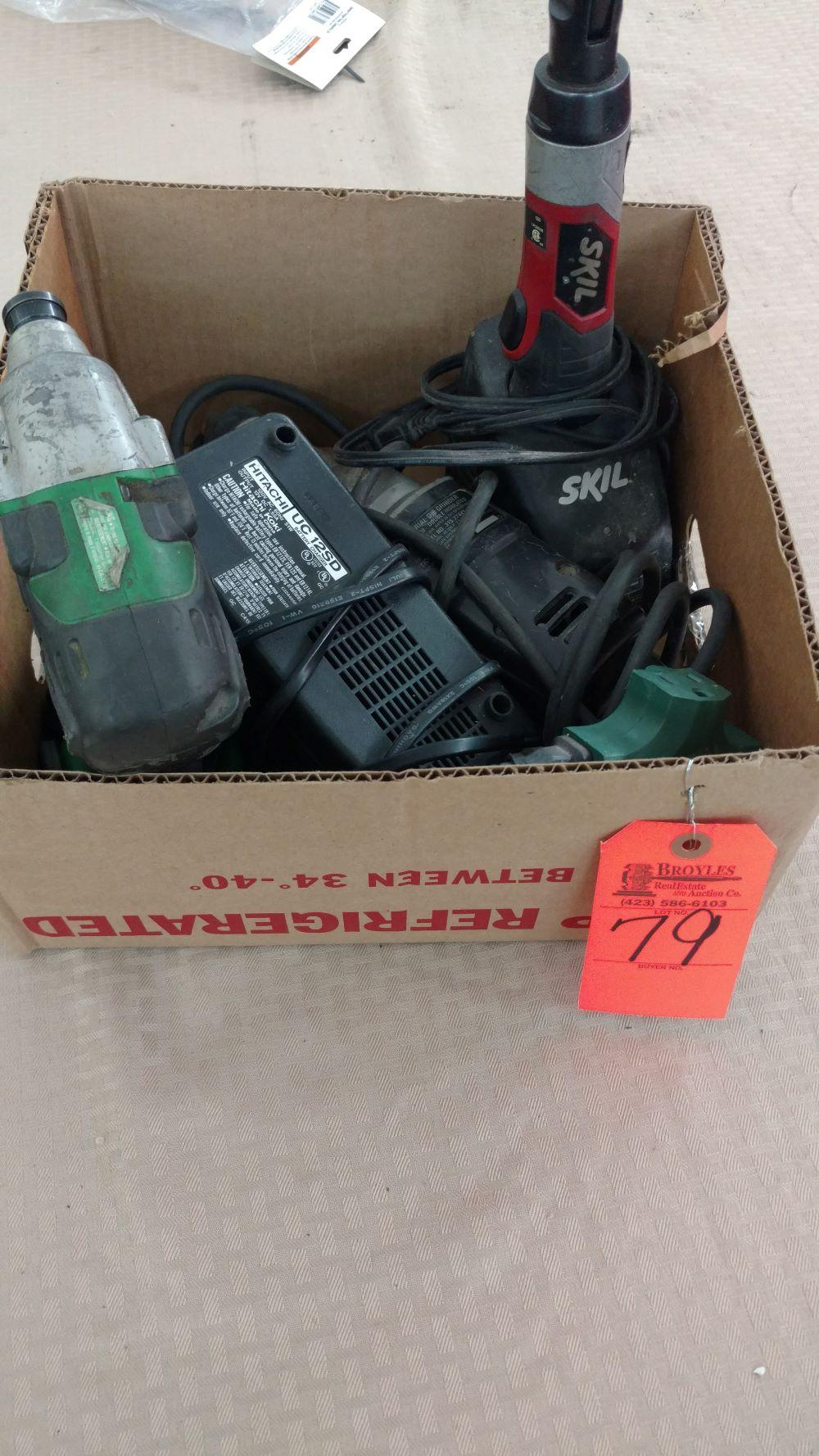 Box lot power tools