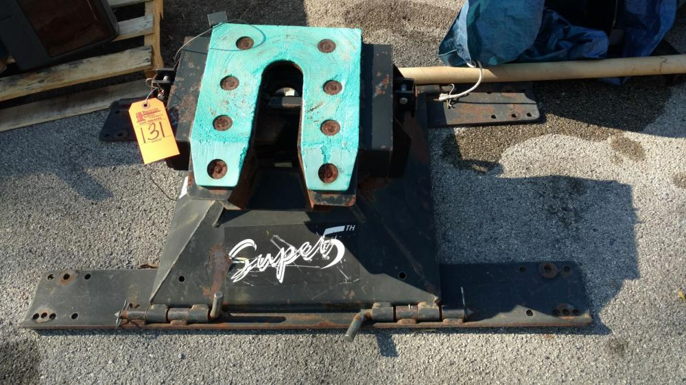 Super 5th wheel hitch