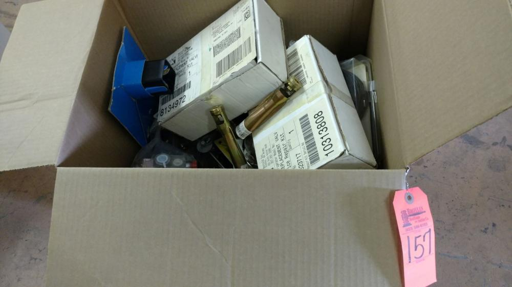 Box lot propane & water heater fittings