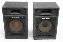 A Pair of PA Speakers