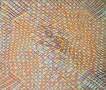 Daphne Wallace Ghost Dog, Water Dog, Bunyip, Duck, Platypus 2000 Acrylic on canvas