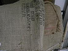 Qty of Hessian Coffee sacks from assorted third world countries
