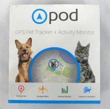 A Pod GPS pet tracker in sealed box