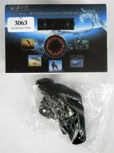 A M500 action camera & accessories in open box