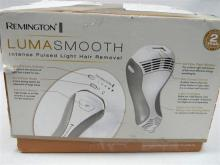 A Remington Luma Smooth Intense pulsed light hair removal system in open box, as found