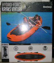A Bestway Hydro-force inflatable kayak