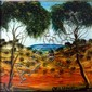 Kevin Charles (Pro) Hart (1928-2006) Landscape Oil on board