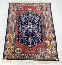 A Hand Knotted Persian rug