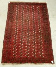 A Small Red Persian Rug