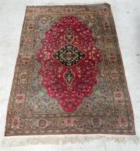 A Hand Knotted Persian Wool Rug