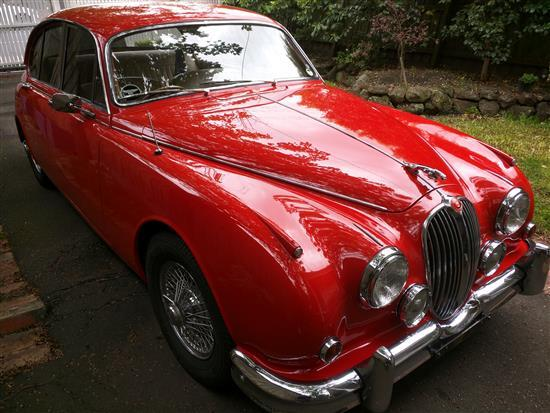 1962 Jaguar Mark II 3.4, RHD