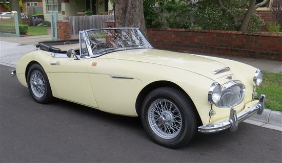 1963 Austin-Healey 3000 BJ7 MkII Convertible