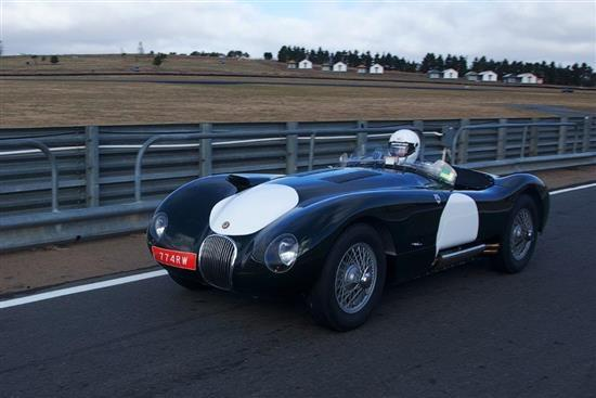 1964 Jaguar C-Type, re-creation