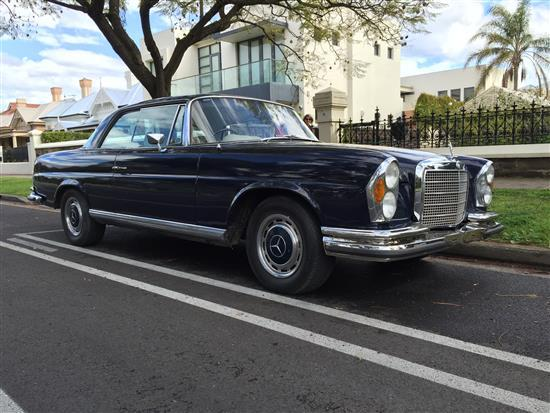 1970 Mercedes-Benz 280SE 3.5 Litre Coupe