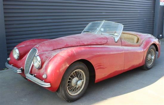1951 Jaguar XK120 Roadster, Barn Find