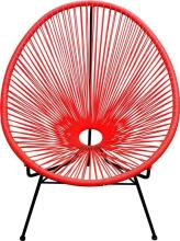 An Apapulco Chair in Red,