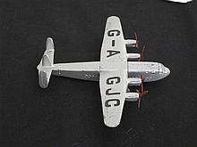 A Dinky Toy 1956/59 Model Aeroplane No 704 unboxed