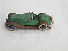 A French Pre-war Dinky Toy No 24H Sports Tourer Two Seater