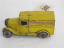 A Pre-war Dinky Toy Delivery Van No 28N (22D) Type 1