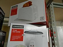 A Homemaker Rice Cooker and Toaster