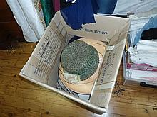 A box of assorted hats