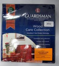 A Guardsman Woodcare Collection kit (retail $249)