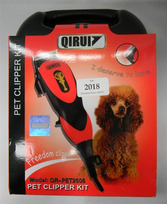 A Qirui pet clipper kit