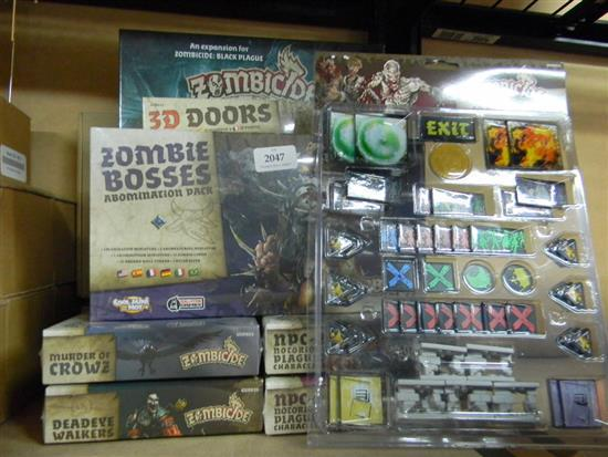 Zombicide assorted expansion packs, characters etc.