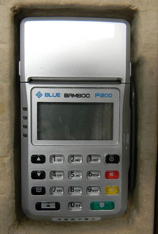 Six Bamboo P200 Eftpos machines