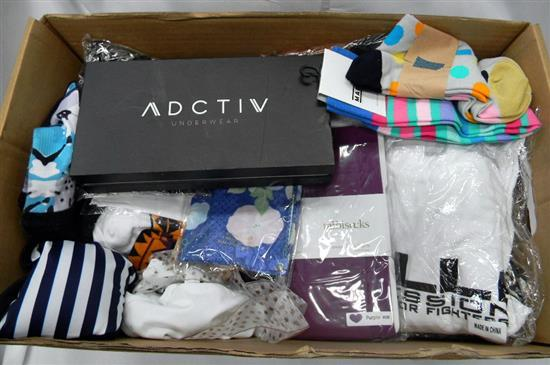 A box of active & underwear