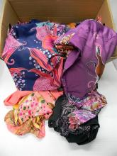 A box of Polynesian inspired clothing