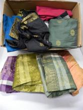 A box of Thai inspired clothing
