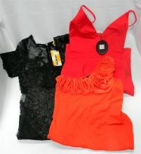 Three ladies evering garments size 8 & small