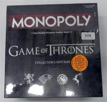 A Monopoly Game of Thrones collectors edition in sealed box