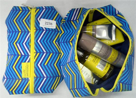 Two L'Occitanne gift packs for men