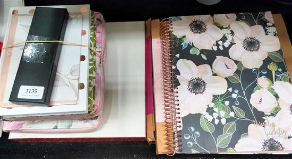 A large collection of designer stationery