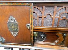A Attwater Ken 55 Model in Spanish Pooley Cabinet